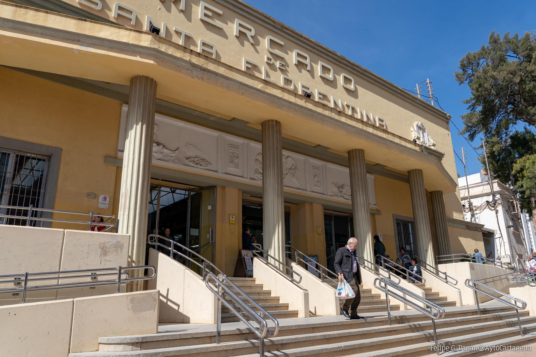 Entrada Mercado de Santa Florentina