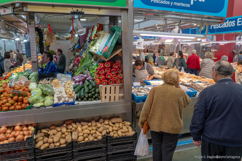 Fruterías Mercado de Santa Florentina